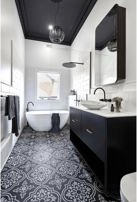 Smarter Bathroom and Kitchens - A white modern bathrooms designed by specialised bathroom renovations in Melbourne